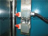 Machine à cintrer hydraulique de la plaque Wc67y-80X2500 en acier