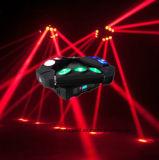9*10W RGBW in 1 LEIDENE CREE Drievoudige Straal die HoofdLicht bewegen