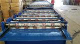 Roulis en acier en aluminium de toit de 925+1080 Doubles couches formant la machine