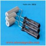 FRPの製品のためのプラスチックハンドルの鋼鉄ローラー