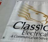 высокое знамя PVC винила напольный рекламировать разрешения 13oz (SS-VB103)