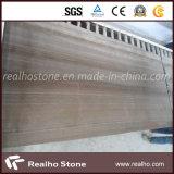 Мрамор вены кофеего Китая деревянный для конструкции плитки стены