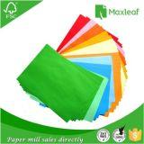 Fabricante de papel de empaquetado del color A4 para el uso de la oficina con la pulpa de madera del 100%