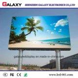 Panneau fixe d'Afficheur LED P8/P10/P16 d'écran polychrome extérieur de l'intense luminosité SMD pour la publicité visuelle de mur