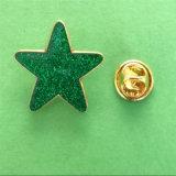Emblema Epoxy da estrela do Glitter para a decoração