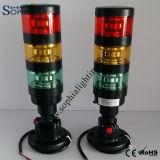 lámpara de la torre de la señal de 24V 120V, lámpara de la señal sonora, lámpara indicadora para el CNC