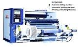 Máquina que raja automática de alta velocidad con la desenrolladora y Rewinder (DLFQW-1300D)