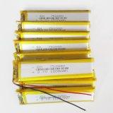 клетки батареи Lipo полимера лития 3.7V 1500mAh 752080 перезаряжаемые для E-книги Bluetooth видеоигры GPS PSP пусковой площадки
