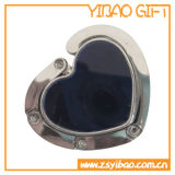 Regalo de encargo levantado 3D de la promoción de la manera del gancho de leva del bolso del sostenedor del bolso de la fluorescencia (YB-BH-421)
