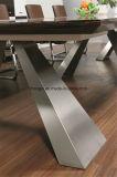 Escritorio moderno de la conferencia del metal del vector de conferencia de la melamina para el proyecto de la oficina