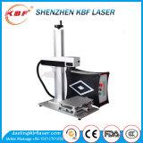 Máquina de la etiqueta de plástico del laser de la fibra de la alta calidad 20W con el FDA