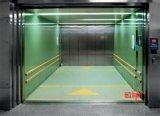 Elevación vertical del coche de plataforma del elevador hidráulico de la ISO del Ce