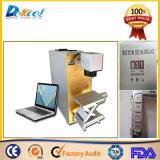 Máquina portable del laser de la fibra del CNC de la marca de color del metal de Jpt Mopa