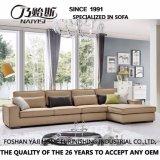 Sofá secional do projeto moderno com tela de imitação da alta qualidade do algodão para a sala de visitas Furniture-G7601b