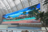 2016 visualización de pantalla de alquiler de la alta calidad P10 8000CD/M2 LED