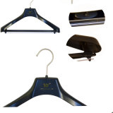 Cheap Black Design Plastic Clothing Suits Hangers