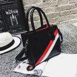 Signore 2017 delle borse dell'OEM con i sacchetti in bianco e nero della cartella della banda per le donne Sy8308