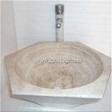 لون طبيعيّة بيضاء [مربل&غرنيت] يغسل مضادّة حجارة حوض, حجارة بالوعة, حجارة قصبة