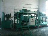Sistema di riciclaggio residuo dell'olio per motori, pianta nera di rigenerazione dell'olio di motore