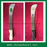 Machete d'acciaio della canna da zucchero del machete per uso del giardino e dell'azienda agricola
