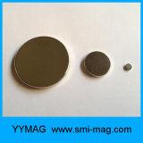 Finissage du nickel '' x0.08 '' des aimants 1.26 de disque d'aimant de néodyme à vendre