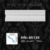 Corniche de polyuréthane de moulage d'unité centrale moulant Hn-85130