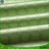 Tela ignífuga impermeable revestida tejida materia textil de la cortina del apagón del poliester del hotel