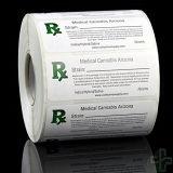 Botella médica de la marijuana de Rx Etiquetar-Genético-Todos estados
