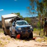 Pistes noires de traction de reprise de Lantsun J268 pp 10tons pour la neige de boue du sable 4WD outre de la route