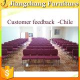 耐久の低価格の熱い販売教会椅子(JC-E04)