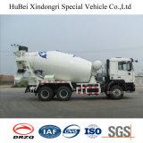 vrachtwagen van de Mixer van het Vervoer van de Levering Shacman de Euro 3 van 9cbm Concrete met Motor Weichai