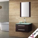 Cabinet de salle de bains en bois plein (VS-W0001)