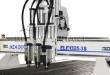 Máquina de grabado de madera de la puerta del CNC de la alta precisión de Ele 1325, ranurador del CNC para los muebles de Untique