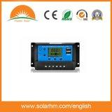 contrôleur solaire automatique de charge de 12V 24V 20A PWM pour le système