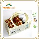 Haltbarer mehrfachverwendbarer Polypropylen-nicht gesponnener Kaffee-/Brot-Verpackung Carrie Tote-Beutel