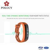 Form-spätestes Entwurfs-Puls-intelligentes Armband mit wasserdichter Bluetooth Uhr