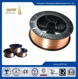 塗られる/重い製造(AWS ER70S-6)のためのミグ溶接穏やかな鋼鉄/Copperワイヤー
