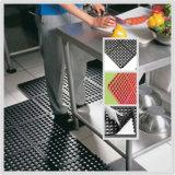 Esteira de borracha antiderrapante Anti-Fatigue resistente do assoalho para a cozinha e o banheiro