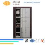 6 أبواب خزانة ثوب معدن خزانة لأنّ تخزين إستعمال