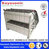 Batterie profonde rechargeable de cycle de cycle de la batterie profonde AGM de la batterie 12V avec la garantie de cinq ans