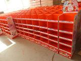 Fabricant d'affichage de carton, affichage de détail de carton, présentoir de bruit, nous affichage standard de palette de carton