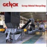 Ferraglia automatizzata che ricicla trinciatrice