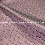 Cuoio sintetico del PVC di stile di fantasia di alta qualità per decorativo domestico