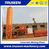 Type centrale de traitement en lots concrète de position de matériel de construction de Hzs 75m3/H