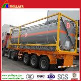 combustibile di 20FT 40FT/acqua/contenitore del serbatoio soda caustica da vendere
