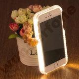 Selfie는 iPhone 6s를 위한 전화 Lumee 케이스를 불이 켜진다