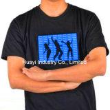 조명 LED EL 번쩍이는 셔츠