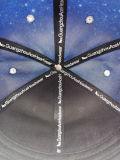 borda Elevada-Grade Cap do plutônio de 3D Embroidery Sublimation Square (GD001)