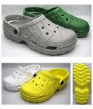 Sandali trasparenti dell'impedimento di PVC/EVA degli uomini caldi di vendita (21FB752)