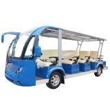 11seat Solar utilidad Panel vehículo eléctrico Sightseeing Bus